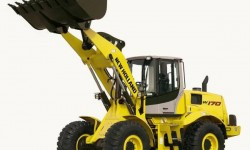 New Holland Pala gommata W170B